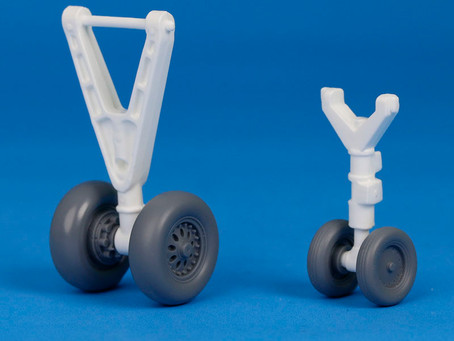 Space Shuttle Wheel Set is almost ready!