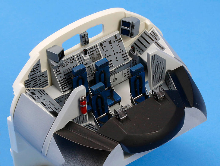 1:72 Space Shuttle Cockpit Update Set, Late (for Revell)