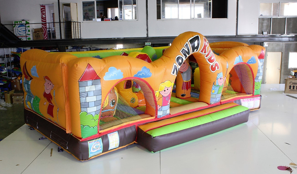 Nuevo Castillo Hinchable Zona Kids