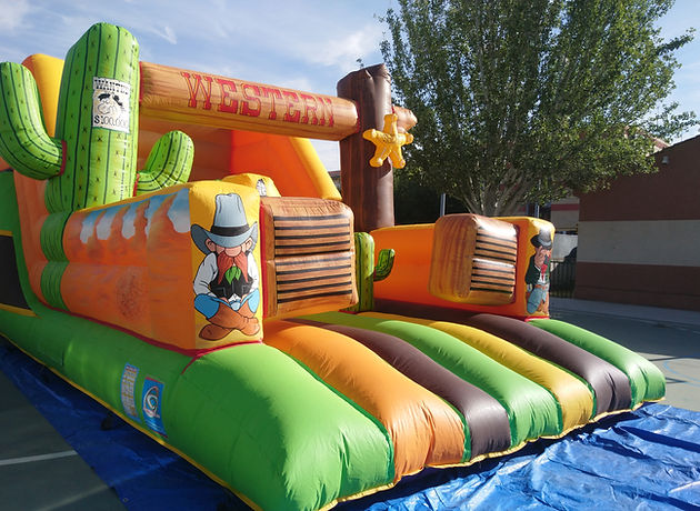 Castillos Hinchables Madrid Villalba para fiestas infantiles