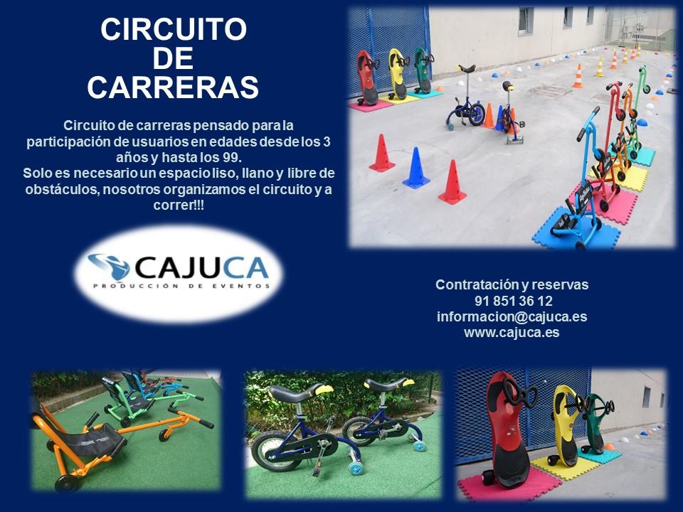 Circuito de carreras Madrid