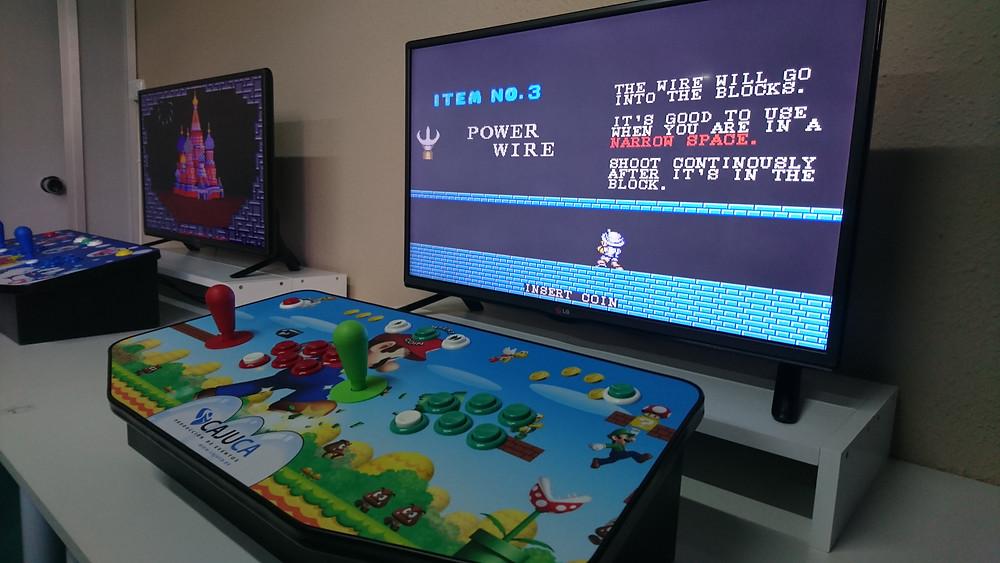 Máquinas ARCADE juegos años 80 90...