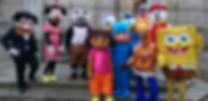 Alquiler Muñecos de animación Madride