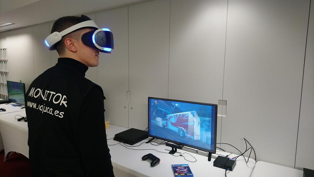 Alquiler gafas de Realidad Virtual en Madrid