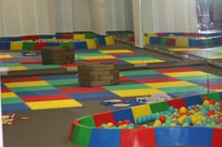 Espacio de juegos infantiles