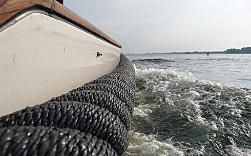 langman rope fenders kabelaring sloop si