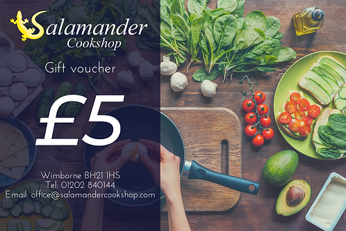 £5 Salamander Voucher