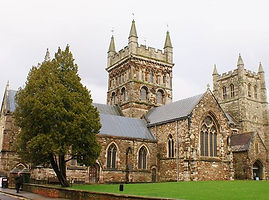 The Wimborne Minster, one of our oldest