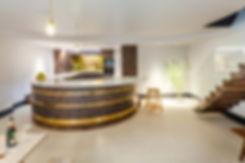 Luxury kitchen design, elegant kitchen space