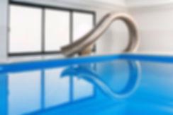 Luxury water slide