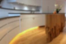 Unique kitchen design by Splinter Works