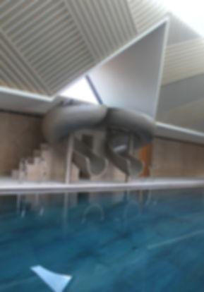 Star Rider bespoke indoor pool slide