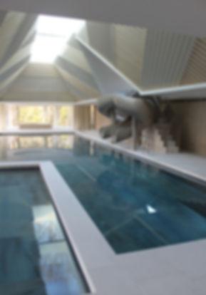 Star Rider bespoke indoor pool slide, ultimate swimming pool accessory