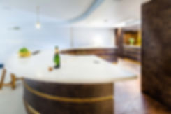 Luxury townhouse bar and kitchen design by Splinter Works