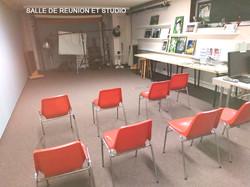 Salle de réunion et studio