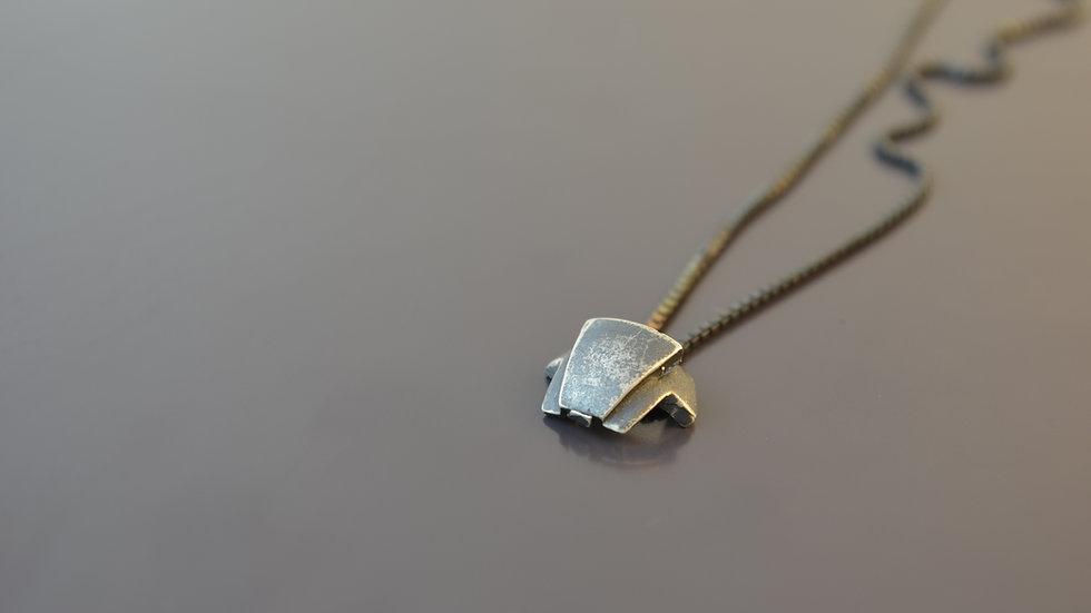 Taurus Silver Pendant