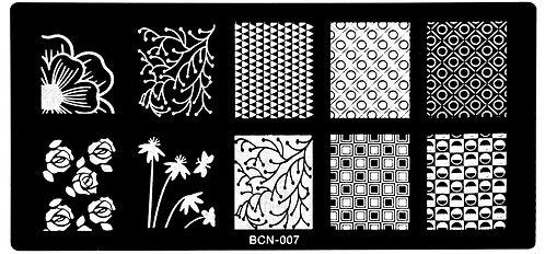 Nail Stamping blaszka BCN 007