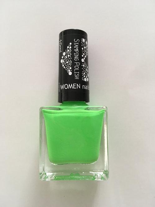 Nail Stamping lakier green 012