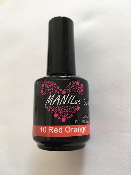 MANILac 10 Red Orange 15ml Thermo Color