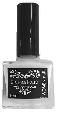 Nail Stamping lakier white