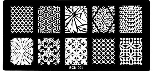 Nail Stamping blaszka BCN 024