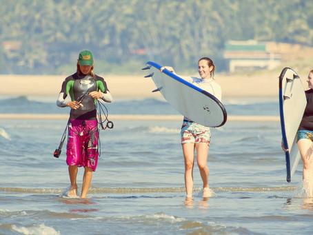 Surf School in Goa Arambol Beach