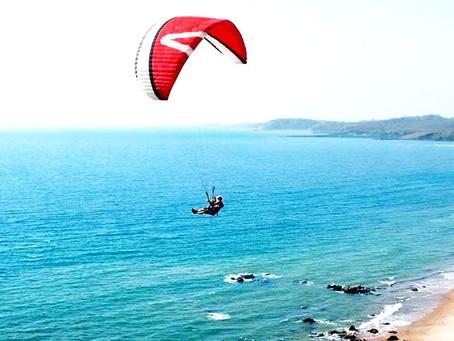 Paragliding in Goa Arambol Beach