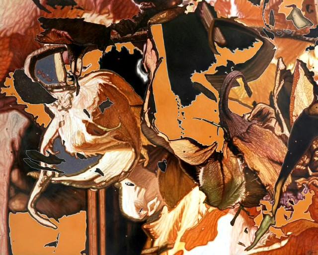 Disintegration IV by Mustafa Orkun MUFTUOGLU