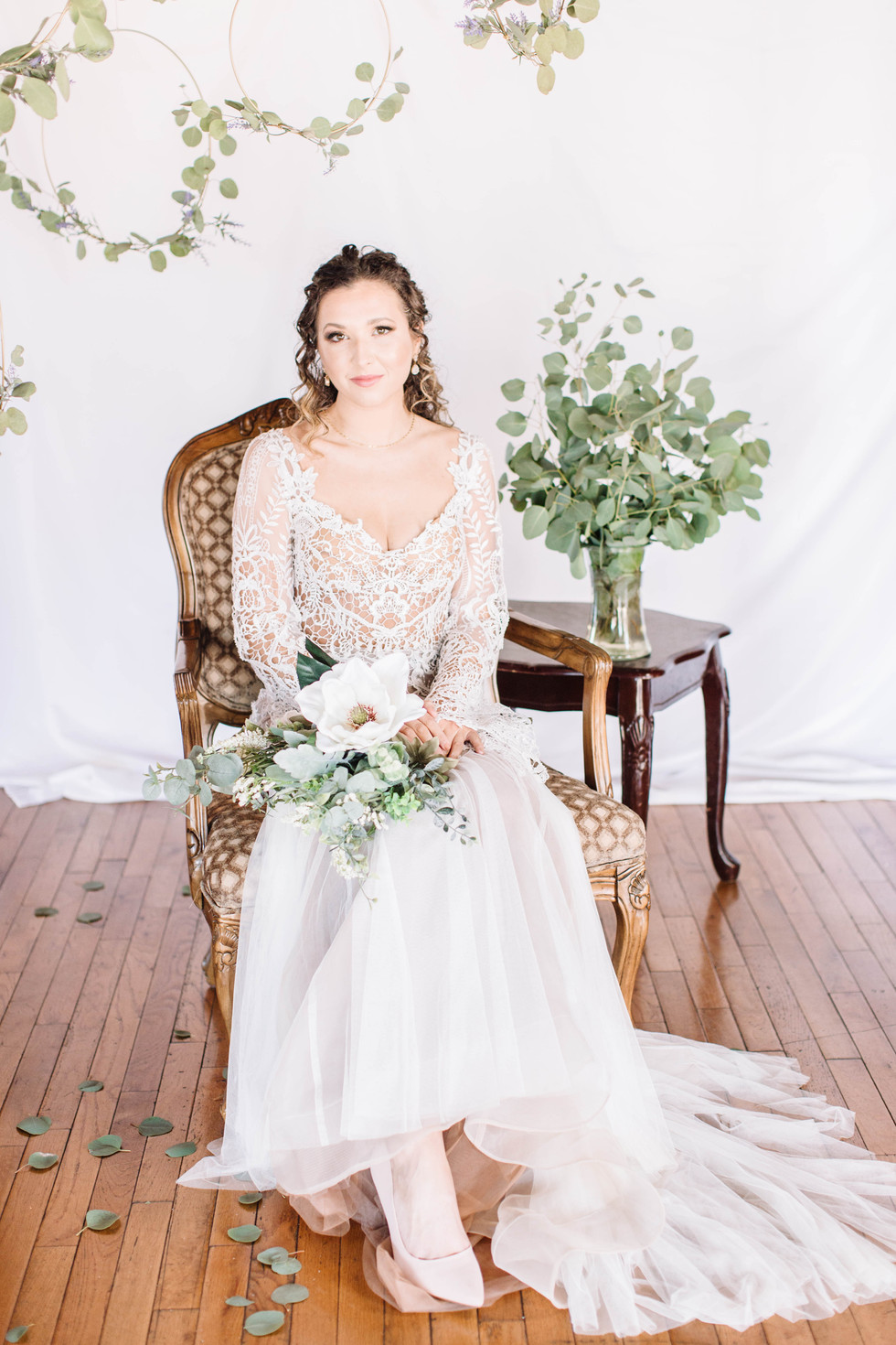 Styled Bridal Shoot - Classic Southern Bride - Morgan Comer