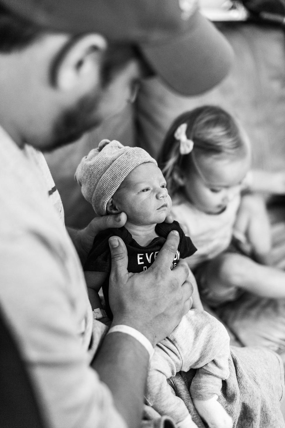 Carson Everett Wray - Family Session - Shelby, North Carolina