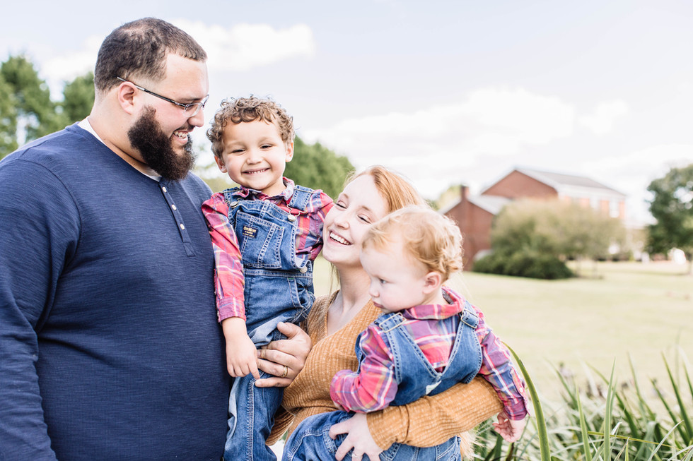The Terrill Families - Family Session - Shelby, North Carolina