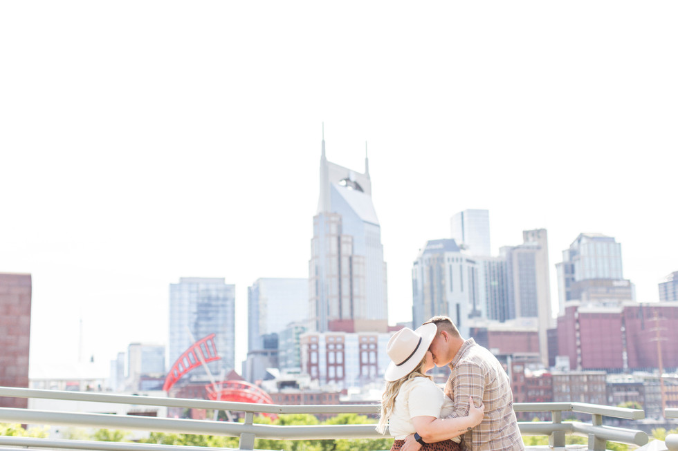 Engagement Session - Allyssa + Matt - Nashville, Tennessee