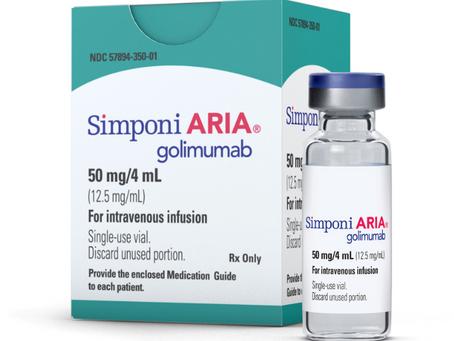 Simponi Aria for Rheumatoid Arthritis
