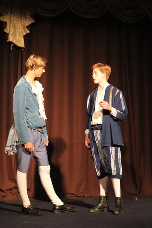 Paris and Capulet