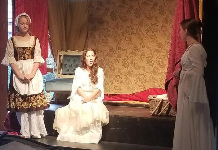 Juliet's bedroom - dress rehearsal