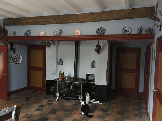 voorhuis in originele kleuren hersteld