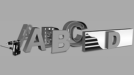 Вывеска объемные буквы
