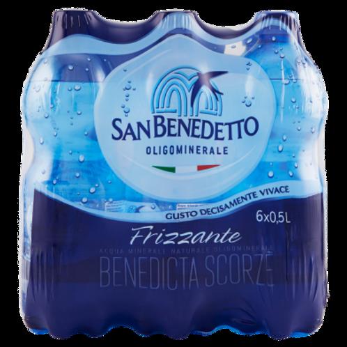 San Benedetto acqua frizzante 6x1.5l