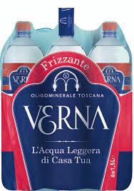 Acqua Verna acqua frizzante 6x1.5l
