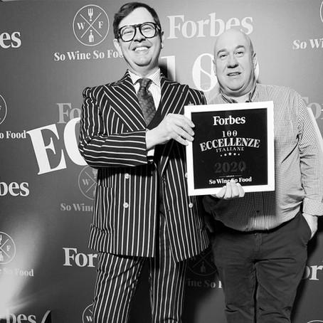 La Pasta premiata da Forbes