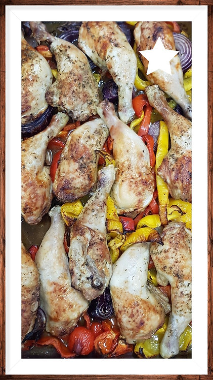 Pollo alla Contadina 550gr.