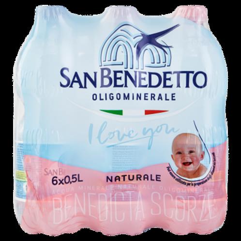 San Benedetto acqua naturale 6x1.5l