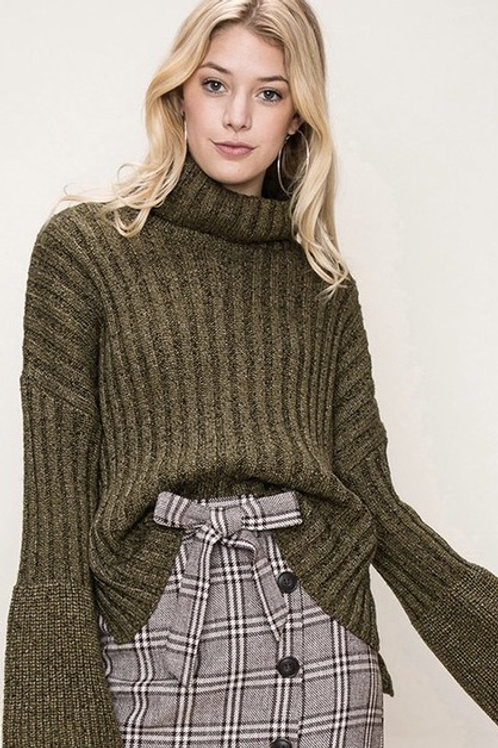 Olive Sweater