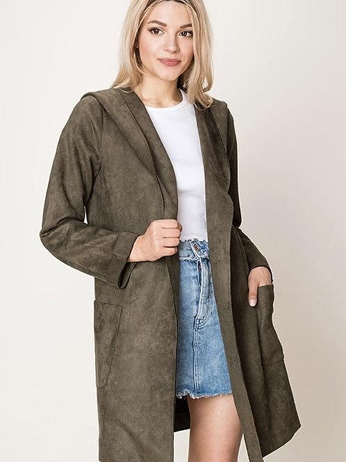 Olive Hooded Jacket