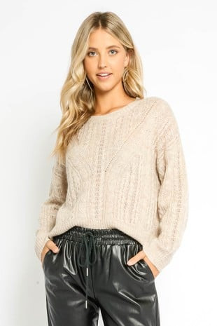 Oatmeal Sweater