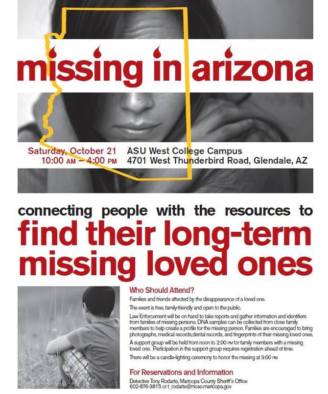 Missing in Arizona Day