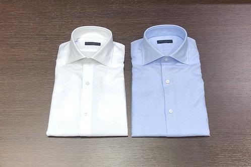 Camicia cotone giro inglese