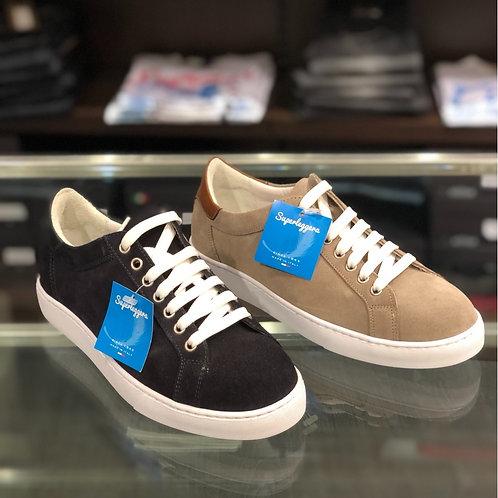 Sneakers nabuk 2 colori