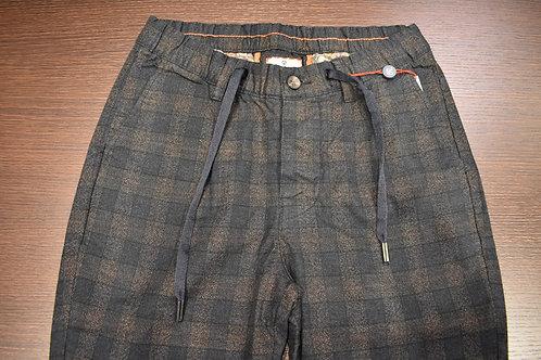 Pantalone quadro con coulisse