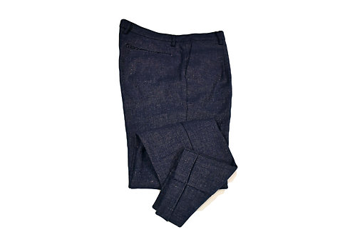 Pantaloni pinces lino